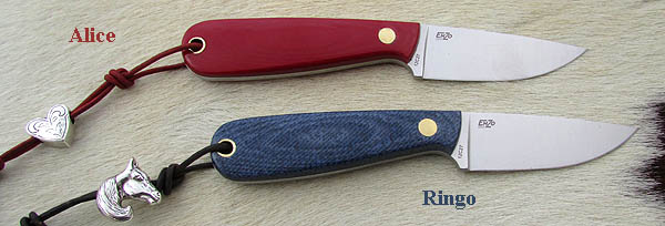 BRISA & EnZo Necker knives