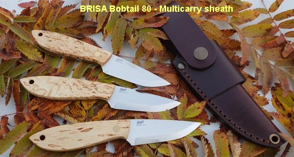 BRISA Bobtail knives