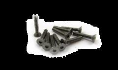 Flat head screws 1-72x1/2..10 pcs