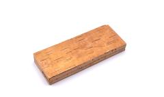 Birch bark block