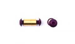 Pivot Aluminium Purple Button 3/16