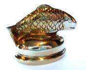 Cap Salmon Brass Small