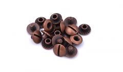Chicago rivets Open Antique - 3,5 mm /10pcs