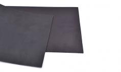 Spanish Top Grain leather Black / 10cm