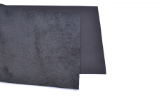 Vegetabile tanned leather/black/ 10 cm
