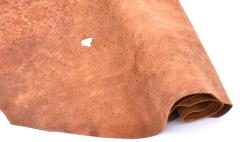 Deer nappa - brown - 13 sqft - 1mm-1,5mm
