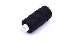 Black Waxed Thread - 25yd