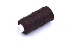 Brown Waxed Thread - 25yd