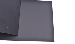 Split Leather Black / 10cm