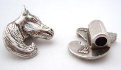 Metal Bead / Horse